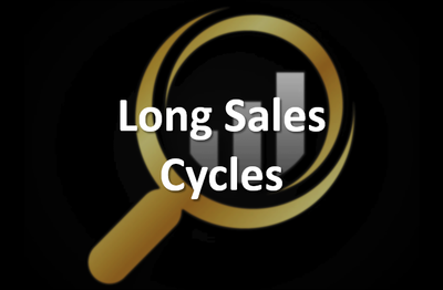 long sales cycles